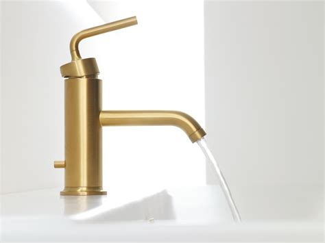 gold kitchen faucet brushed gold bathroom faucet trends with images