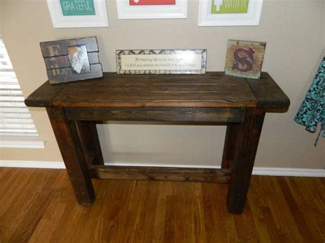 farmhouse style console table rustic farmhouse style console table on etsy 150 00