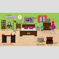 Bedroom Furniture Learn Things In The Bedroom With Pictures  Bedroom Vocabulary Youtube