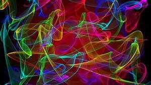 Wallpaper, Colorful, Illustration, Digital, Art, Black