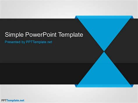 templates powerpoint gratis free minimalism ppt template