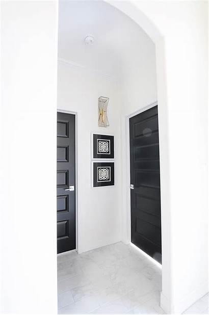 Doors Interior Walls Trim Dark Grey Interiors