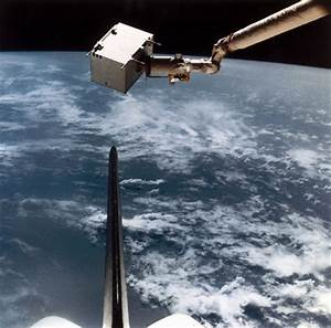Space Shuttle Remote Manipulator System (RMS), 1980s. by ...