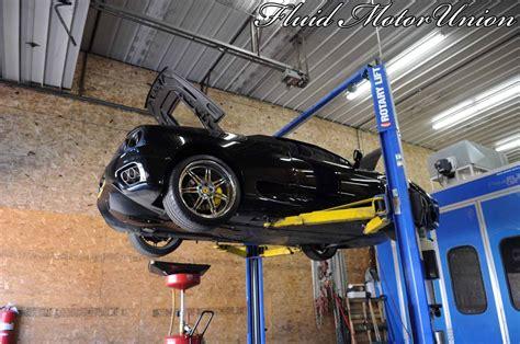 exotic service  ferrari  oil change car repair