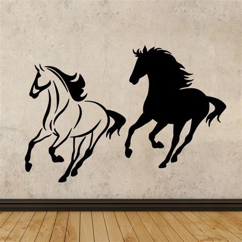 stickers muraux animaux sticker noir  blanc ambiance