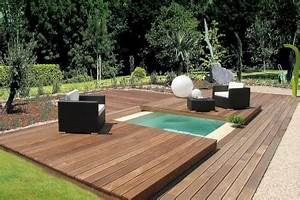 Mini Pool Terrasse : petite piscine petite taille mais grands avantages ~ Michelbontemps.com Haus und Dekorationen