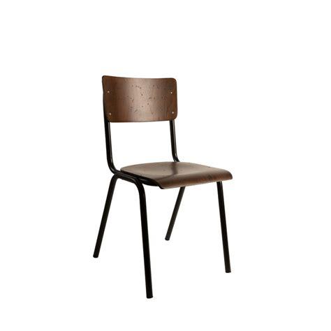chaise metal vintage chaise vintage métal bois écolier scuola by drawer fr