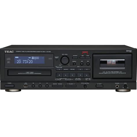 Cd Cassette Player by Teac Ad 800 Cd Player Auto Cassette Deck W Ad 800