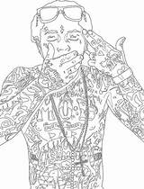 Coloring Pages Lil Wayne Gypsy Printable Sheets sketch template