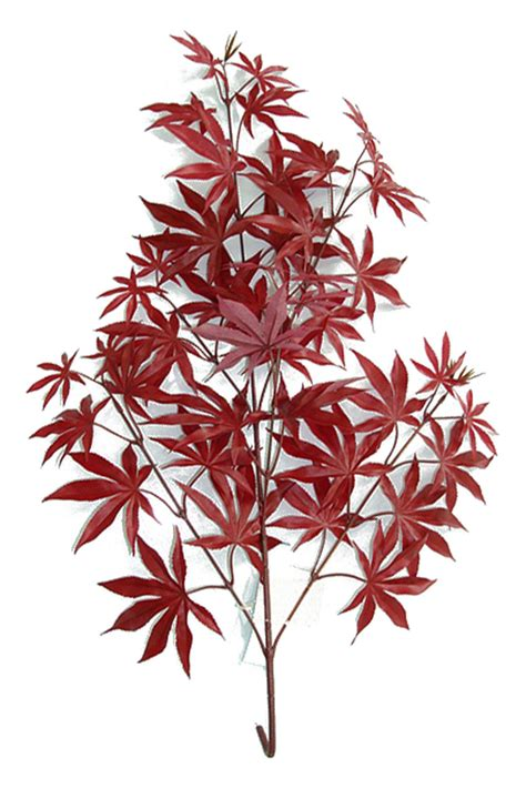 artificial maple leaf branches  leaves