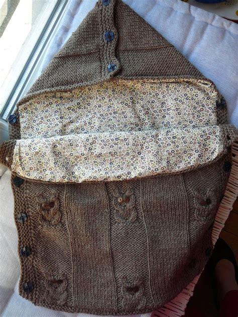 nid d ange siege auto modèle tricot nid d ange pour siege auto