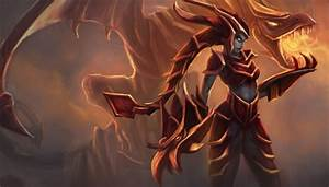 Shyvana the Half-Dragon - Other & Video Games Background ...