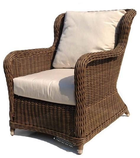 outdoor wicker lounge chair bayshore contemporary