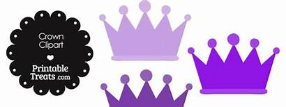Crown Purple Clipart Brown Clip Printable Library