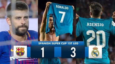 Barcelona 1-3 Real Madrid HD 1080i (Spanish Super Cup ...