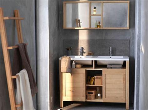 meuble salle de bain bois pas cher 12 meubles de salle de bains pas chers d 233 coration