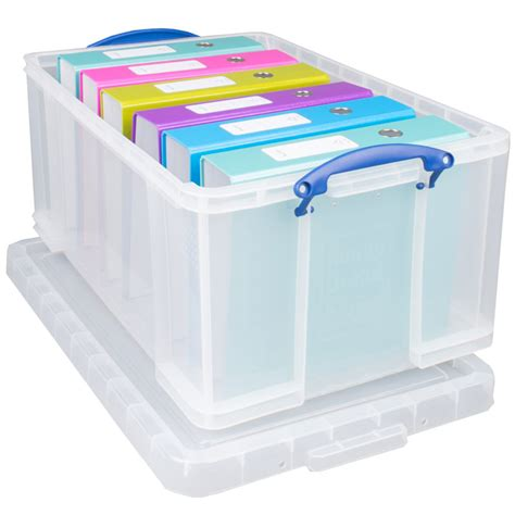 Really Useful Storage Box 64l  Storage Solutions  B&m