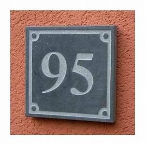Plaque Numero De Rue : plaque carr e num ro de rue en pierre naturelle square 2 ~ Melissatoandfro.com Idées de Décoration
