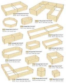 raised beds can come in all shapes and sizes this