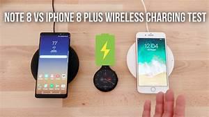 Iphone 8 Plus Wireless Charging : iphone 8 plus vs note 8 wireless charging test youtube ~ Jslefanu.com Haus und Dekorationen