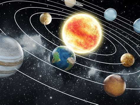 tout l univers est en trois dimensions mais alors pourquoi notre syst 232 me solaire est il plat