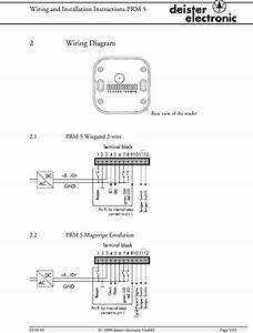 Deister Electronic Prm5m Inductive Card Reader User Manual Manual