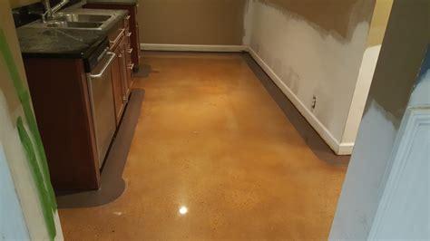 stained concrete floor    border  atlanta