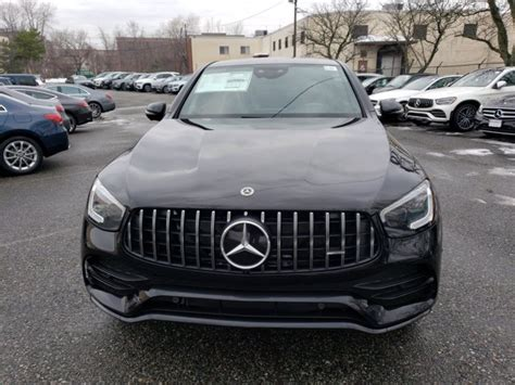 Does this sound familiar to you? New 2021 Mercedes-Benz AMG GLC 43 4MATIC Coupe SUV   Obsidian Black Metallic 21-512