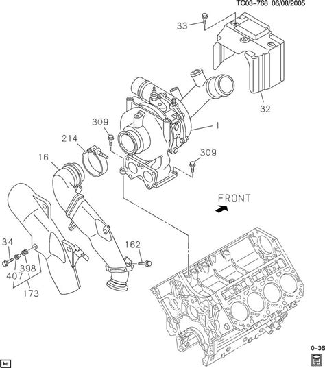 2006 Duramax Diesel Engine Diagram by Exhaust Leaking Coming From An Unknown Part Diesel Place