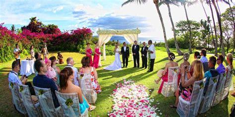 gannons weddings  prices  maui wedding venues