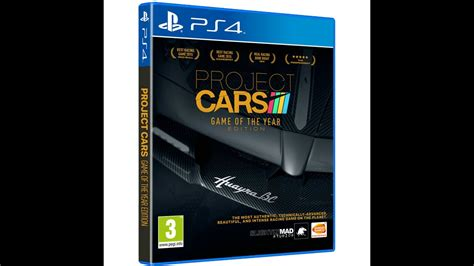 project cars of the year project cars ps4 of the year edition cars and tracks list