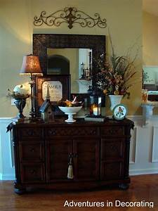 metal piece above mirror over buffet love this for the With dining room buffet decorating ideas