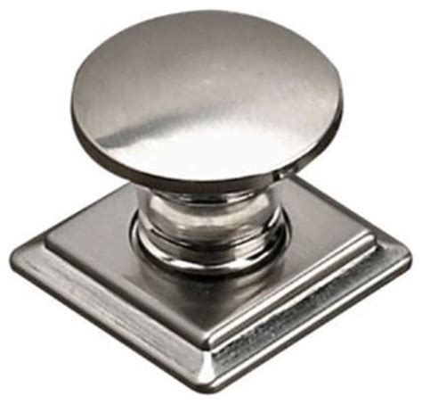 kitchen cabinet knobs with backplates richelieu contemporary metal knob square backplate 7872