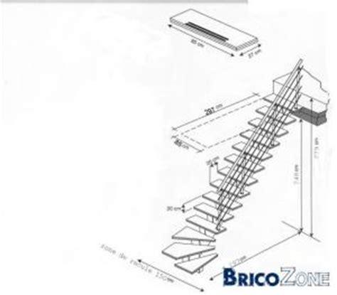 comment calculer un escalier quart tournant escalier nombres de marches