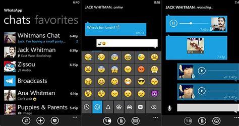 whatsapp beta 2 17 234 for windows phone messenger apps