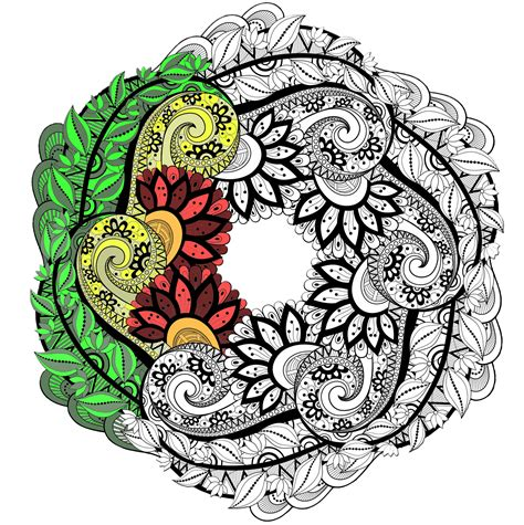 Mandala Images Mandalas Coloring Pages For Adults Justcolor