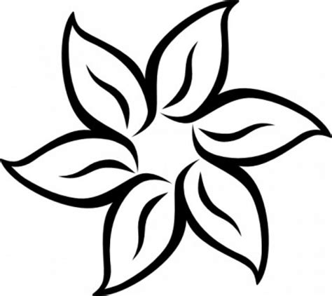 black and white flower clipart 71 free flower clipart black and white cliparting