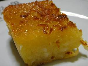 Baking Lesson for today: Cassava Cake | isay in wanderlandia