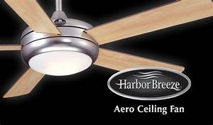 Harbor breeze aero ceiling fan keep yourself always