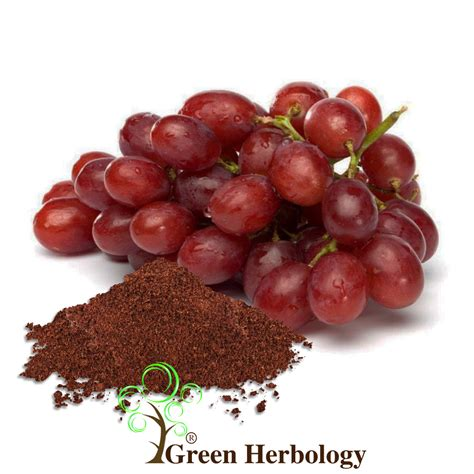 grape seed powder green herbology