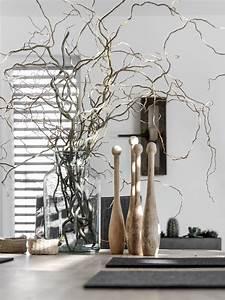 Künstliche Zweige Für Bodenvase : dekoration schnittgut mxliving ~ Orissabook.com Haus und Dekorationen