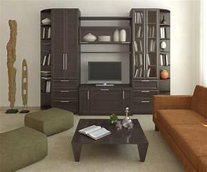 Modern, Furniture, Modern, Living, Room, Cabinets, Designs
