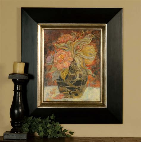 Uttermost Framed by Uttermost Floral Bunda Framed Wall Ut33439