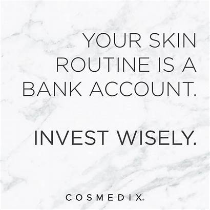 Skin Quotes Sayings Care Skincare Investment Investing
