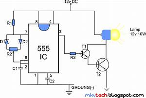 diy pwm lamp dimmer using 555 ic With pwm controller ic