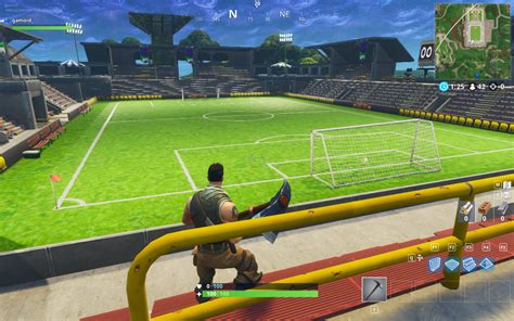 fortnite introduces soccer arena  map    world