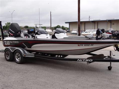 Nitro Bass Boat Z8 by Nitro Z8 Boats For Sale In Boerne