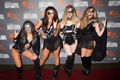 Little Mix dress as popular cartoon characters for night ...