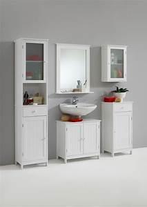 Badezimmer Hängeschrank Weiß : stockholm 5 badezimmer h ngeschrank von fmd weiss ~ Watch28wear.com Haus und Dekorationen