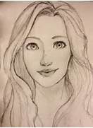 Woman Face Drawing Eas...